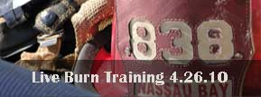 Live Burn Training 04262010